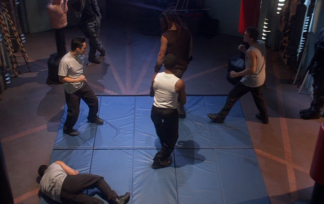Stargate: Atlantis - Lexikon - Atlantis Trainingsraum 1
