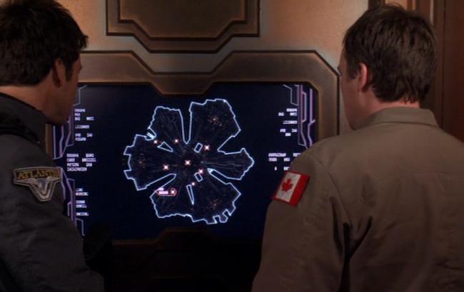 Stargate: Atlantis - Lexikon - Atlantis - Transporter 3