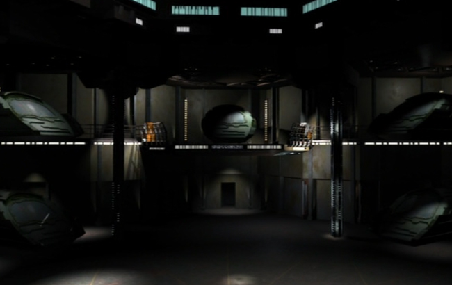 Stargate: Atlantis - Lexikon - Hangar 1