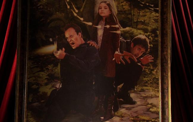 Lexikon - Stargate: Atlantis - Gemälde Prinzessin Harmony, John Sheppard, Rodney McKay