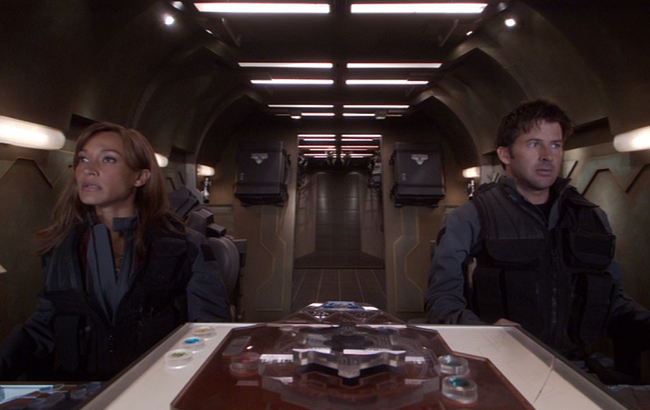Stargate: Atlantis - Lexikon - Puddlejumper - Cockpit / Kontrollpult 1