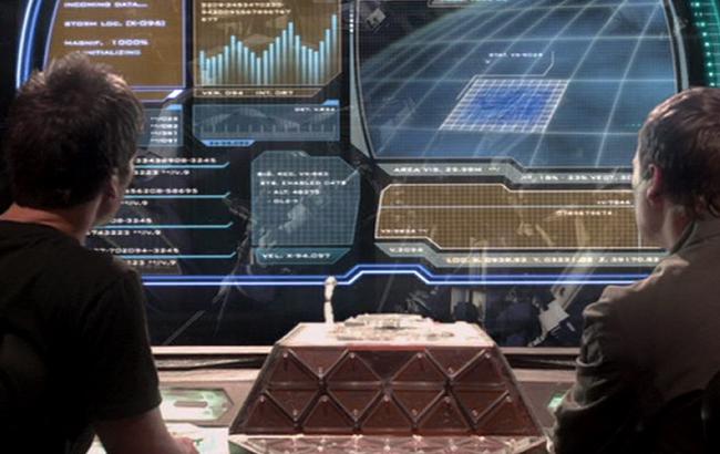 Stargate: Atlantis - Lexikon - Puddlejumper - Cockpit / Kontrollpult 2