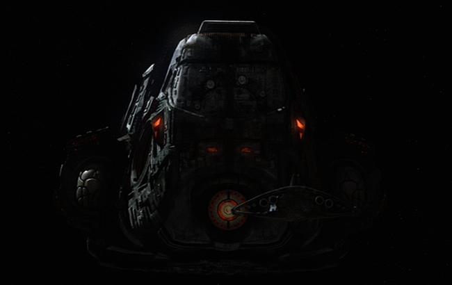 Lexikon SGU Stargate Universe - Nakai Mutterschiff 1