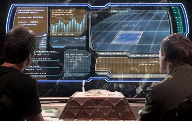 Lexikon - Stargate: Atlantis - Puddlejumper On-screen Display - 1