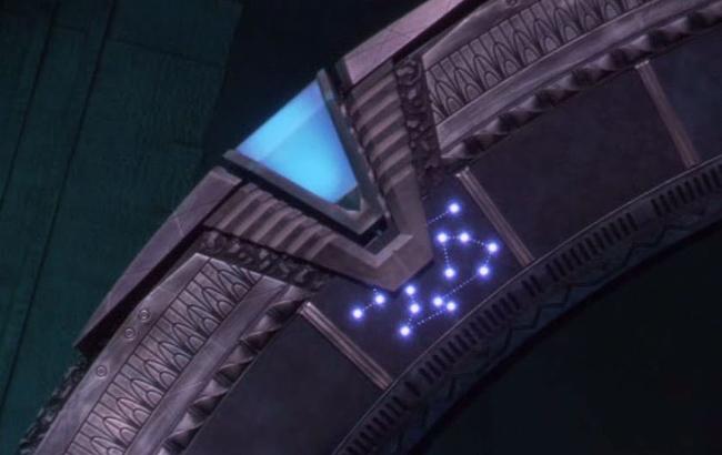 Stargate - Lexikon - Stargate Atlantis Sternentor Chevron 1
