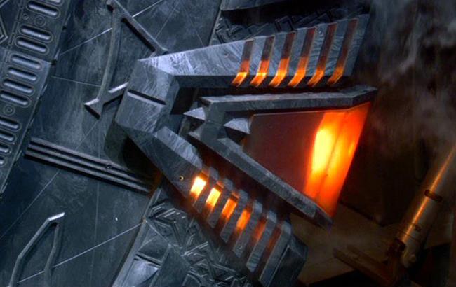 Stargate - Lexikon - Stargate SG-1 Sternentor Chevron 1