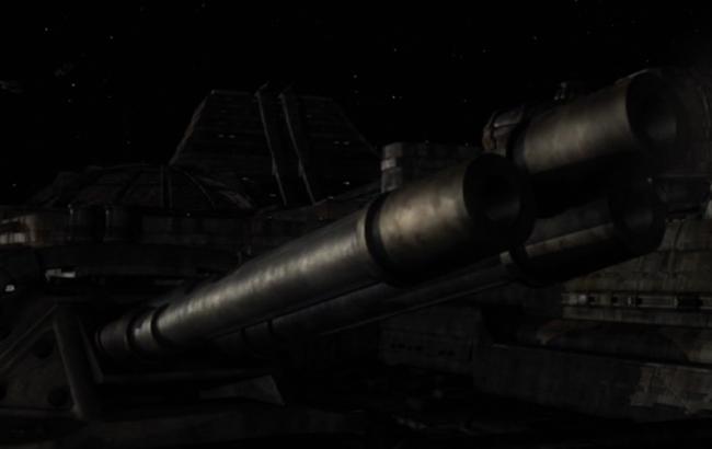 Lexikon - Stargate Universe SGU - Destiny Geschütze 2