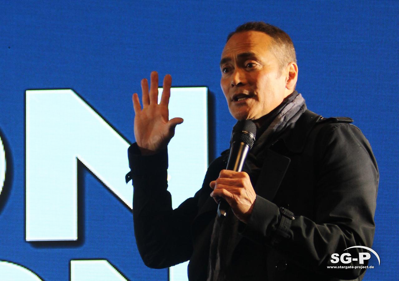 London Comic Con Spring 2020 - 2 -Mark Dacascos 2
