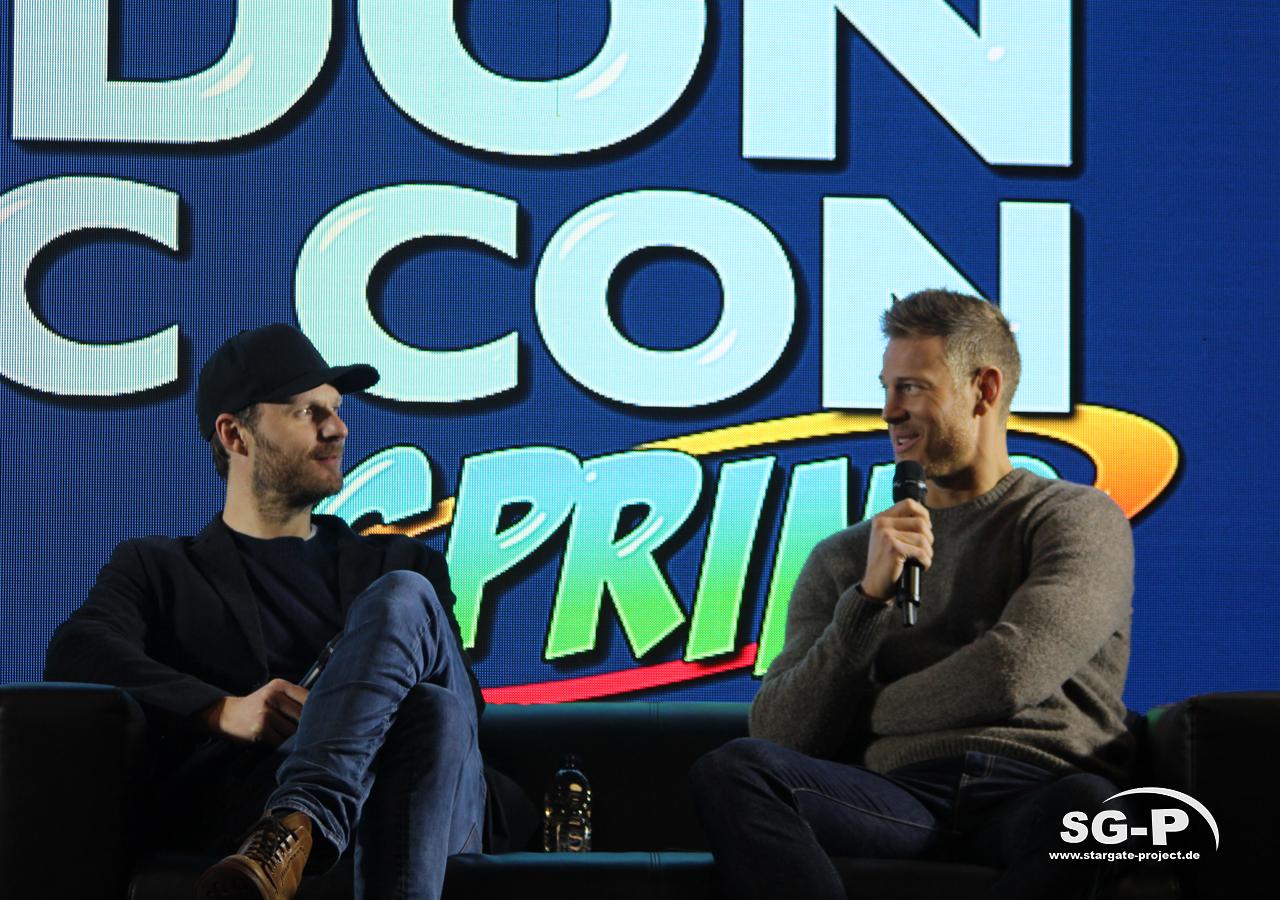 London Comic Con Spring 2020 - 4 -Merlin Rupert Young Tom Hopper 1