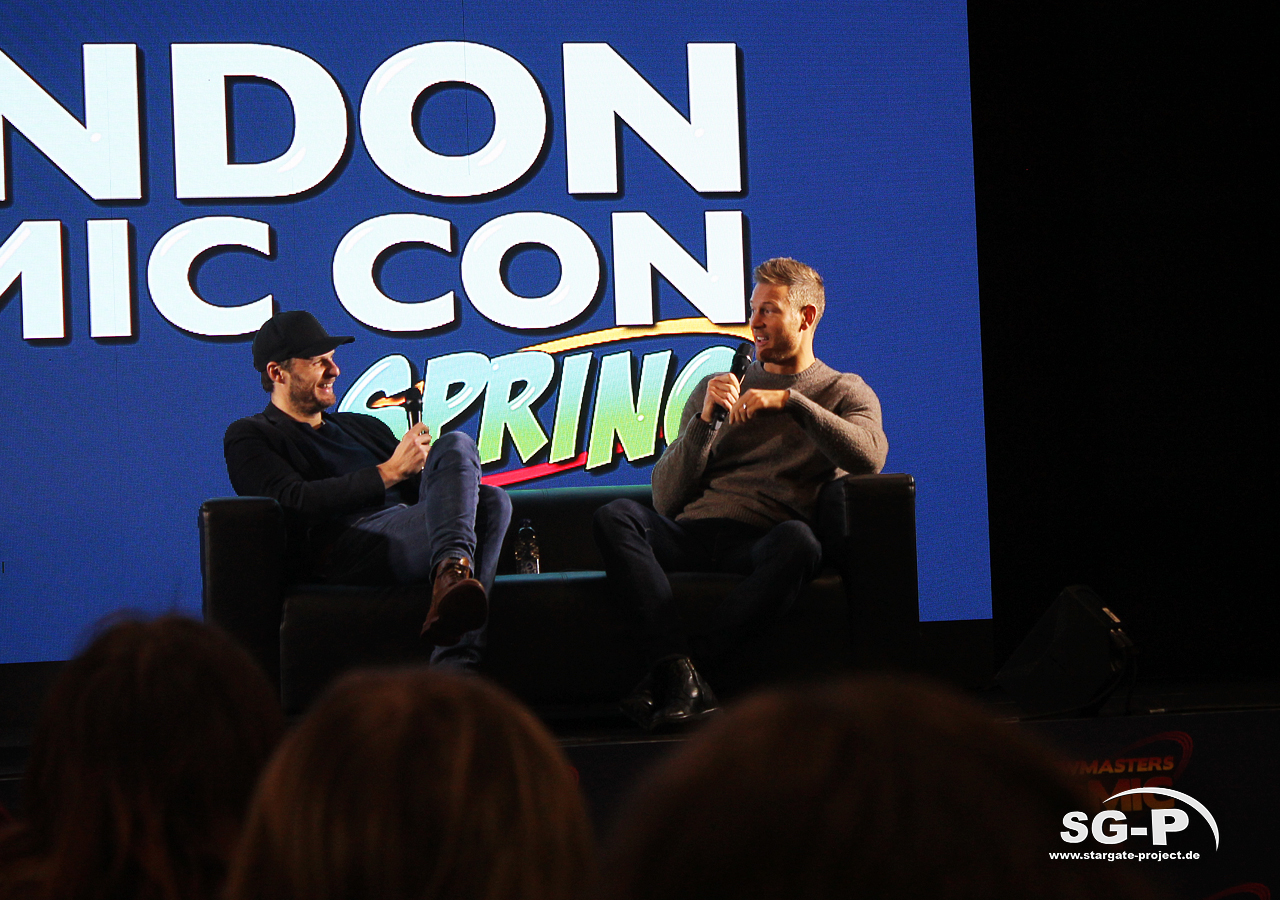 London Comic Con Spring 2020 - 4 -Merlin Rupert Young Tom Hopper 4