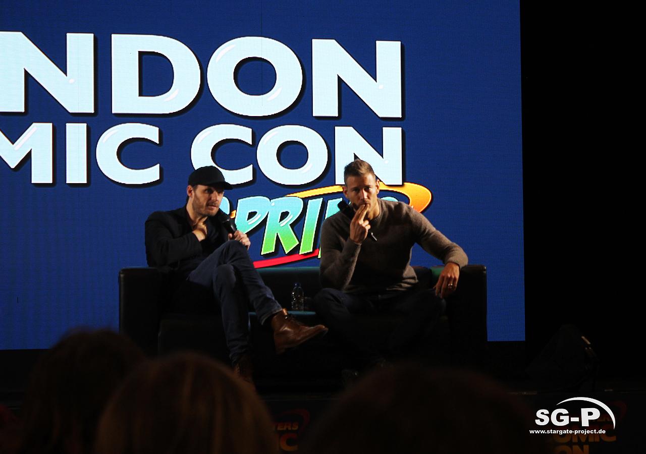 London Comic Con Spring 2020 - 4 -Merlin Rupert Young Tom Hopper 5