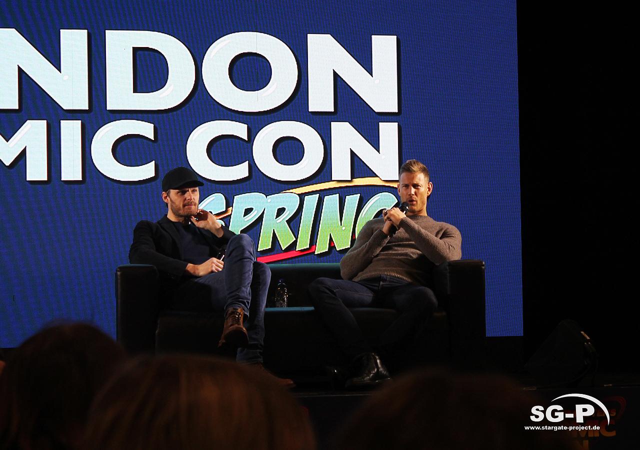 London Comic Con Spring 2020 - 4 -Merlin Rupert Young Tom Hopper 6