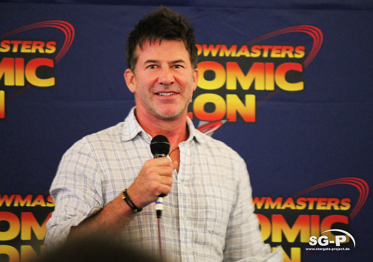 London Film and Comic Con 2019 - Joe Flanigan 1