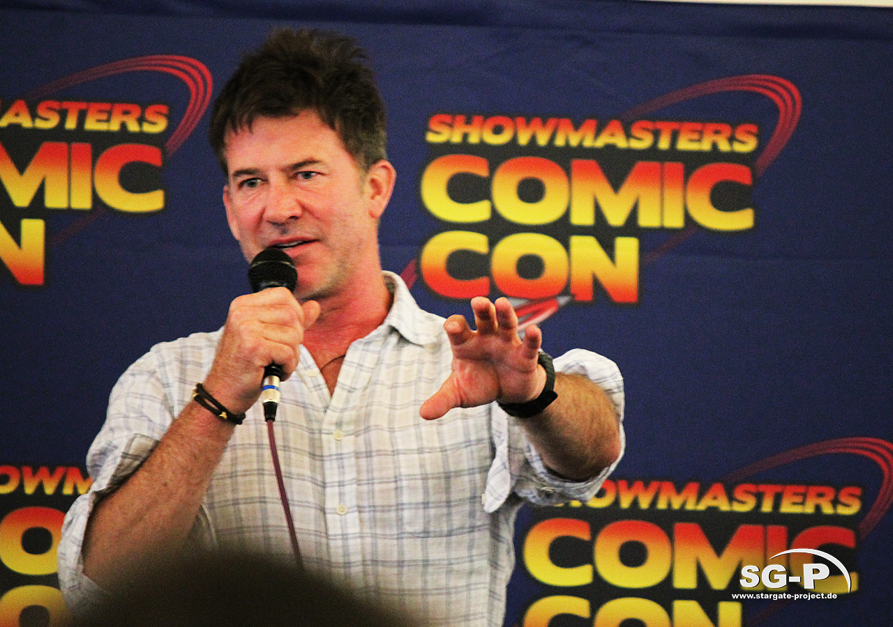 London Film and Comic Con 2019 - Joe Flanigan 12
