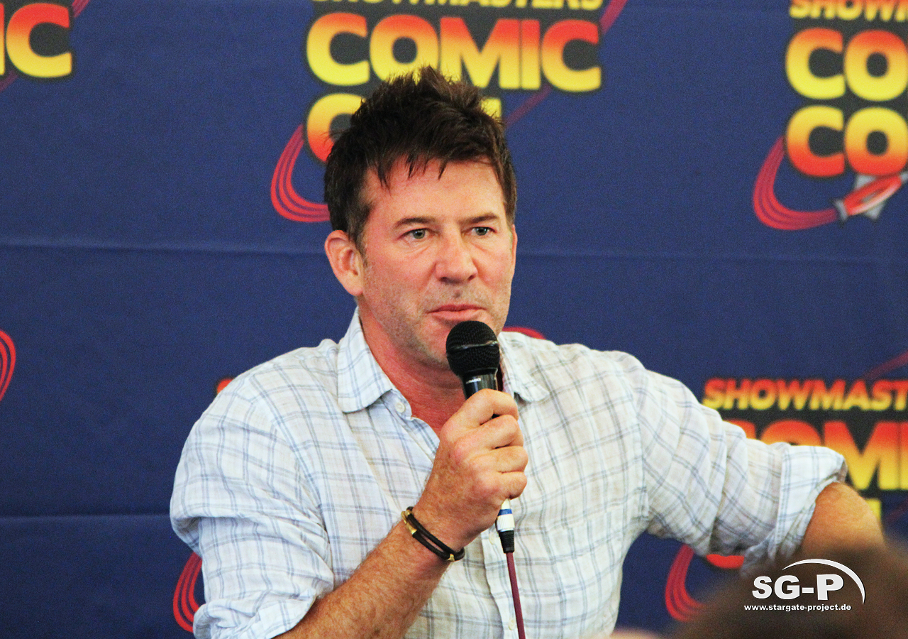 London Film and Comic Con 2019 - Joe Flanigan 2
