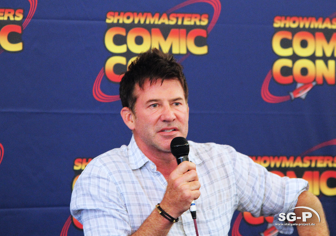 London Film and Comic Con 2019 - Joe Flanigan 3