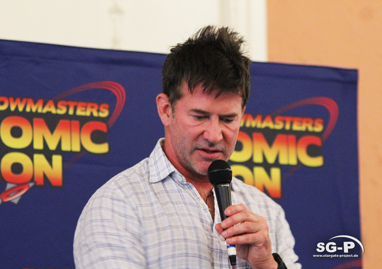 London Film and Comic Con 2019 - Joe Flanigan 4