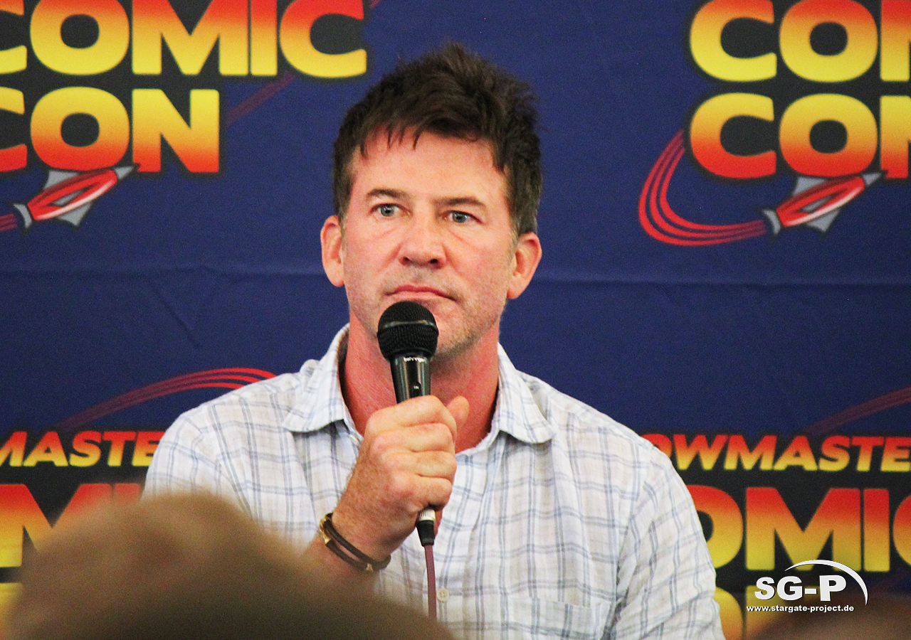 London Film and Comic Con 2019 - Joe Flanigan 7