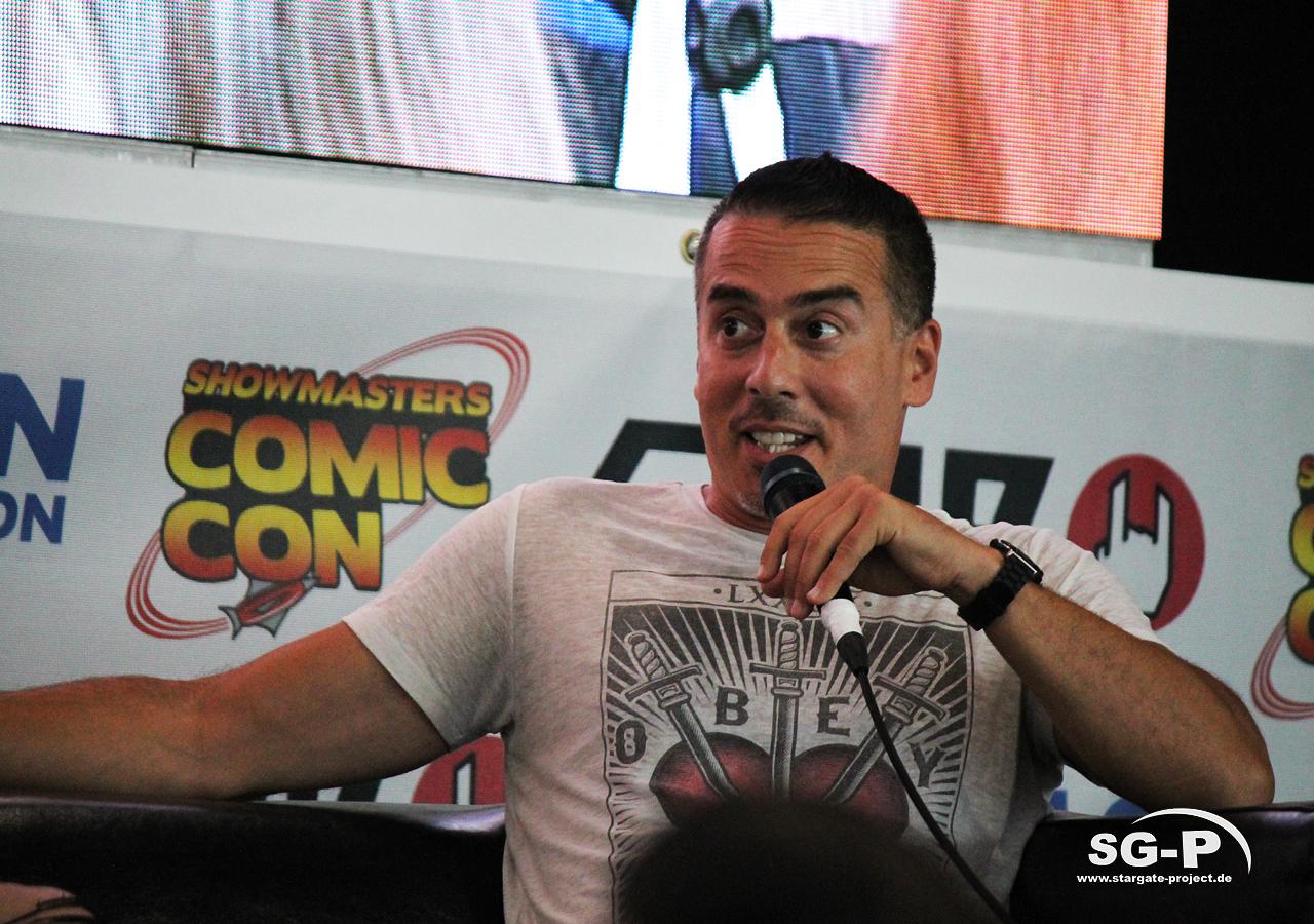 London Film and Comic Con 2019 - Arrow - Kirk Acevedo 4