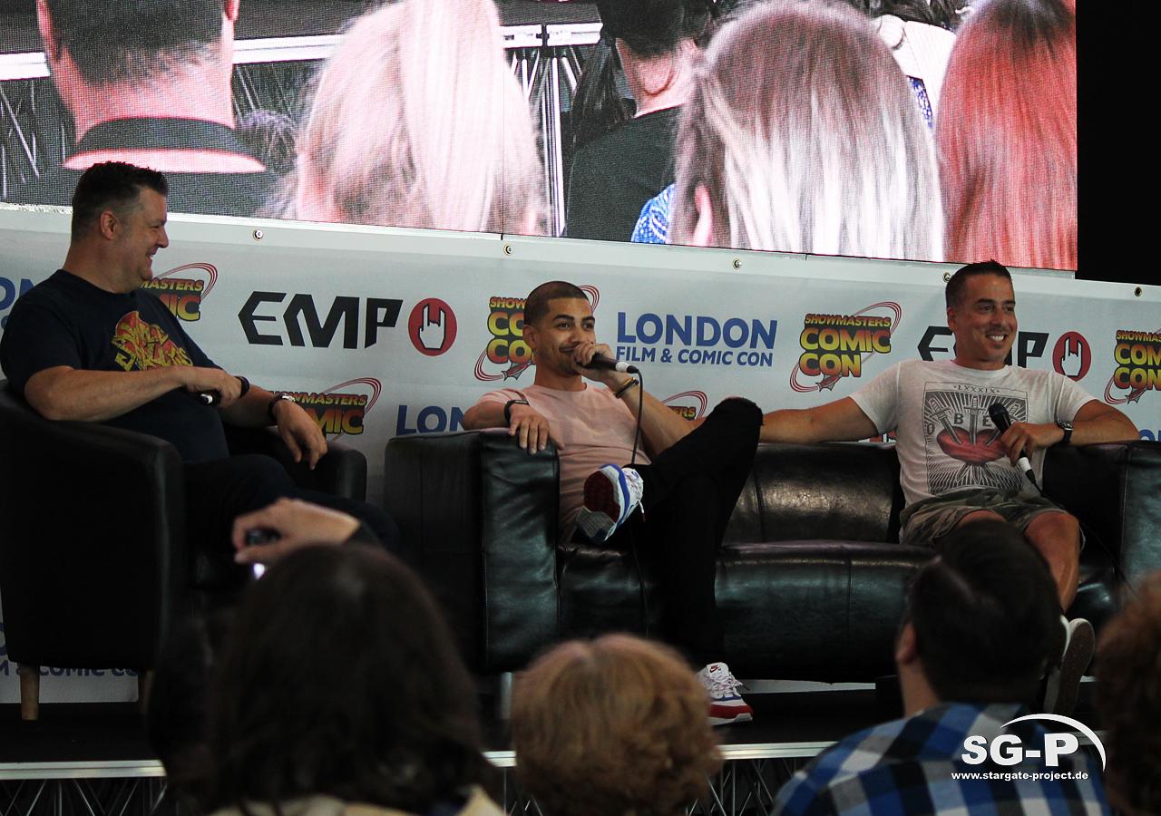 London Film and Comic Con 2019 - Arrow - Rick Gonzalez Kirk Acevedo 1