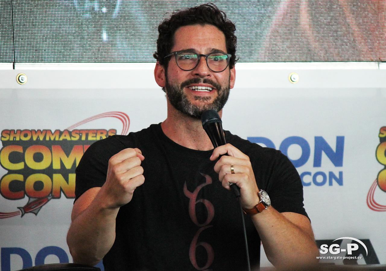 London Film and Comic Con 2019 - Lucifer - Tom Ellis 14