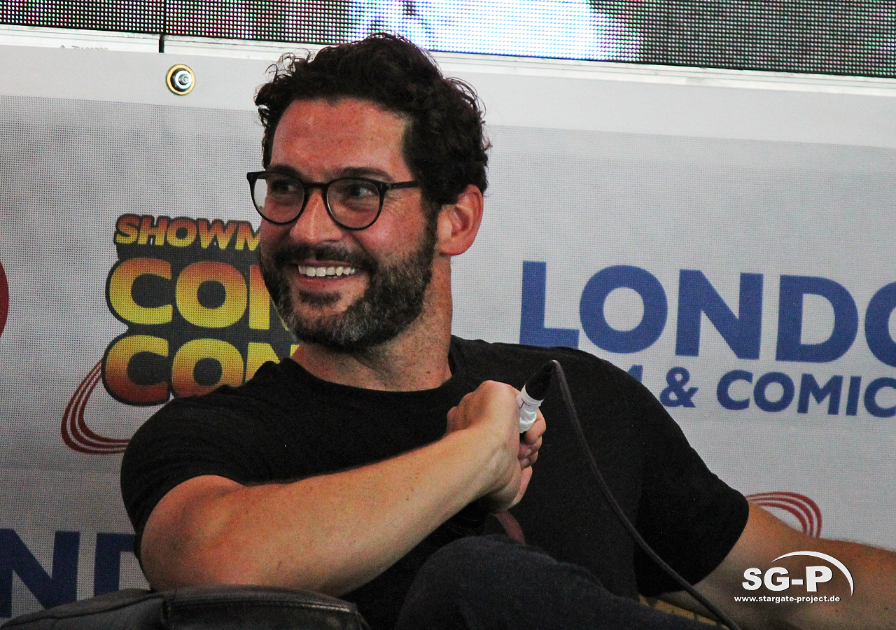 London Film and Comic Con 2019 - Lucifer - Tom Ellis 19