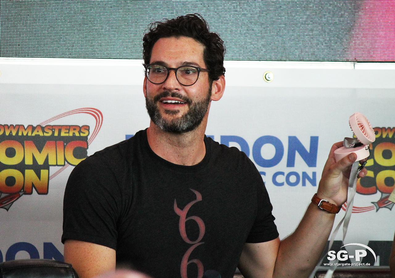 London Film and Comic Con 2019 - Lucifer - Tom Ellis 8