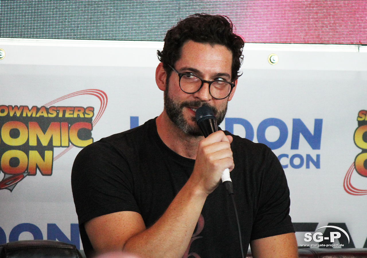 London Film and Comic Con 2019 - Lucifer - Tom Ellis 9