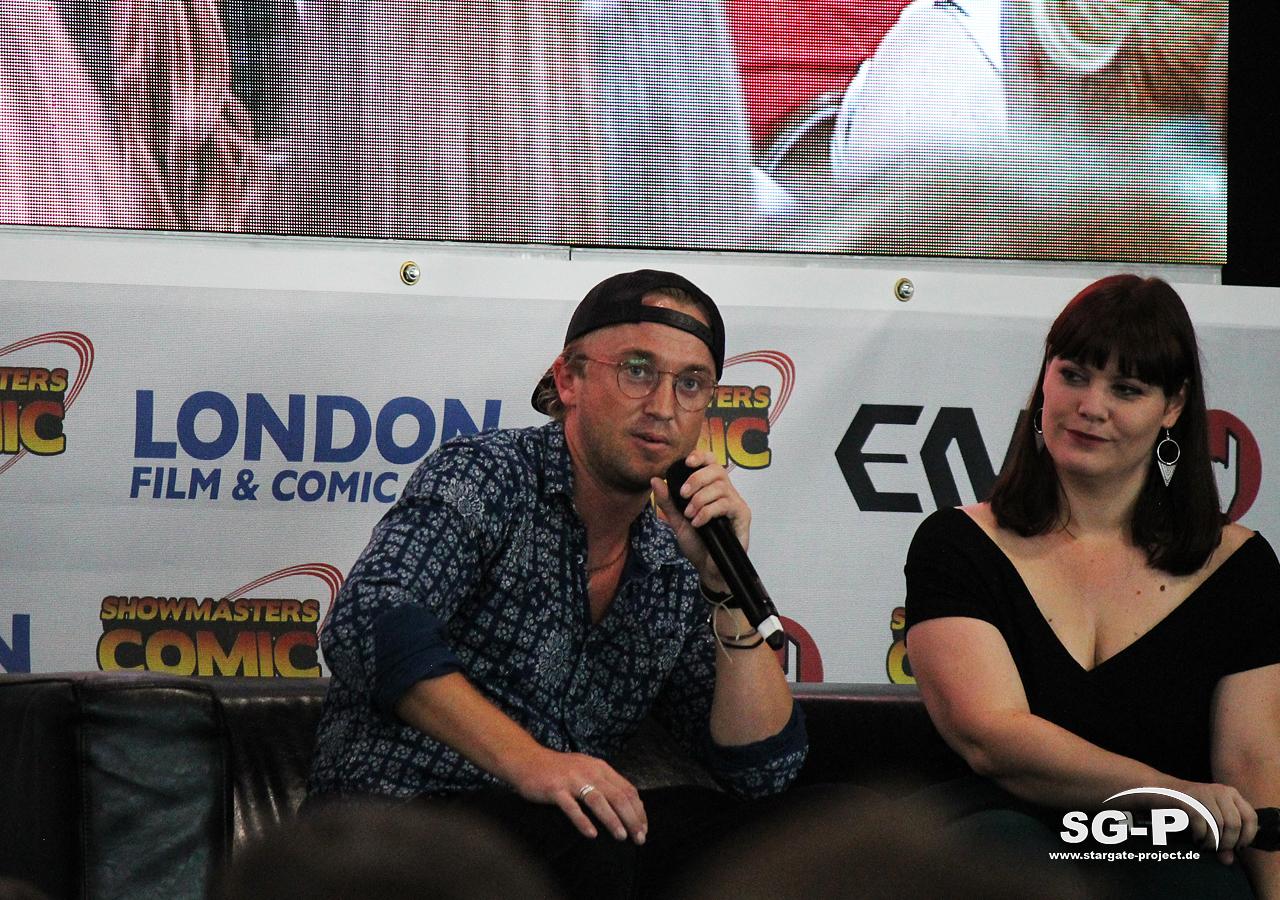 London Film and Comic Con 2019 - Tom Felton 1