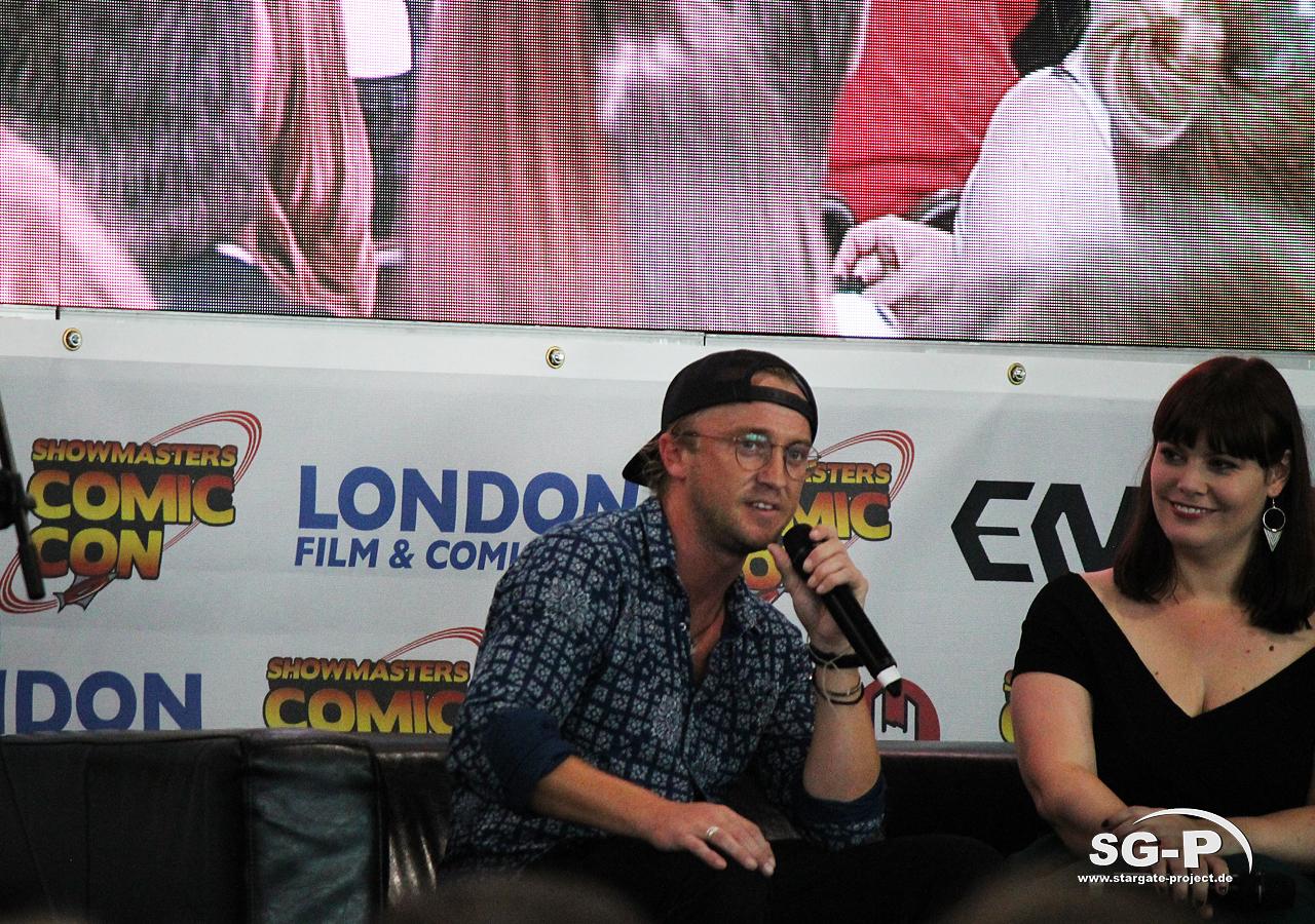 London Film and Comic Con 2019 - Tom Felton 3