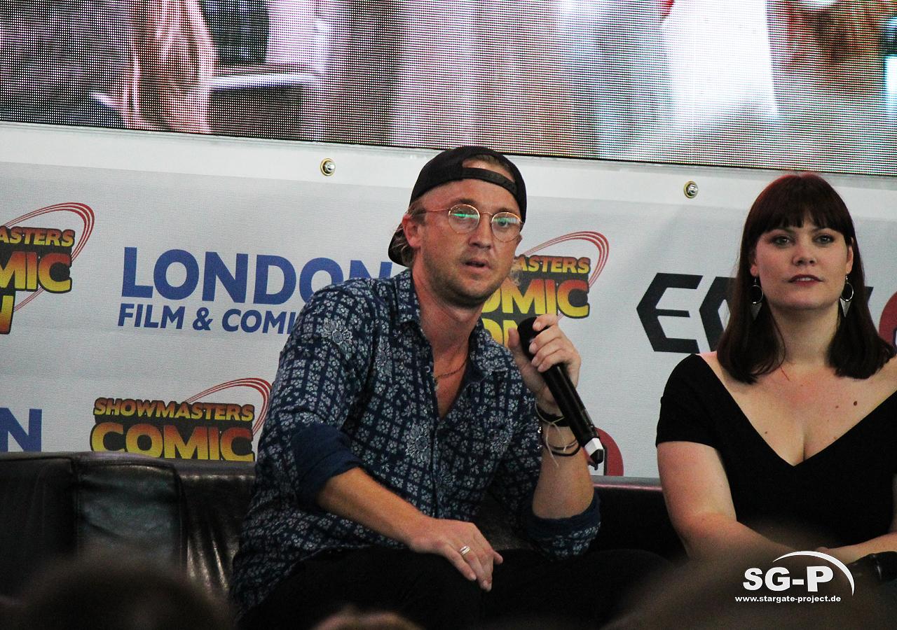 London Film and Comic Con 2019 - Tom Felton 4
