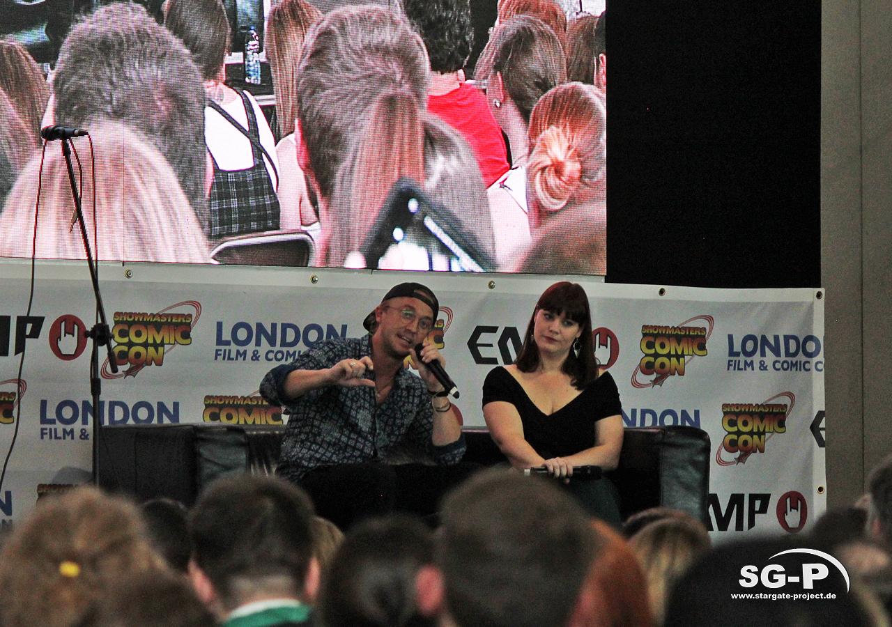 London Film and Comic Con 2019 - Tom Felton 5