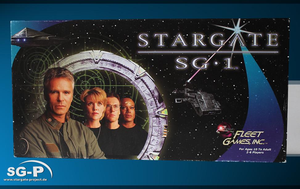 Merchandise - Stargate SG-1 Brettspiel / Board Game - Fleet Games Inc.- 1 Teaser