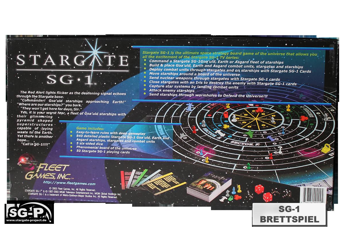 Merchandise - Stargate SG-1 Brettspiel / Board Game - Fleet Games Inc.- 2