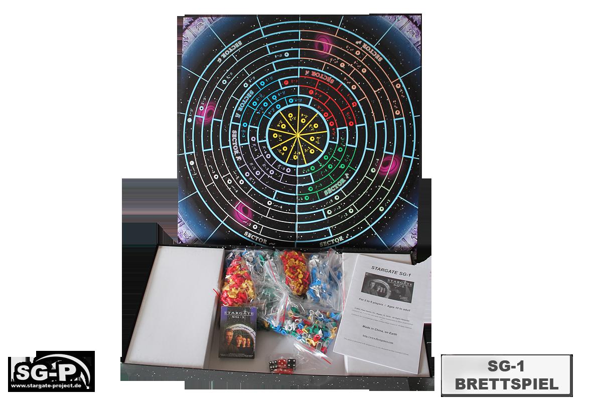 Merchandise - Stargate SG-1 Brettspiel / Board Game - Fleet Games Inc.- 3