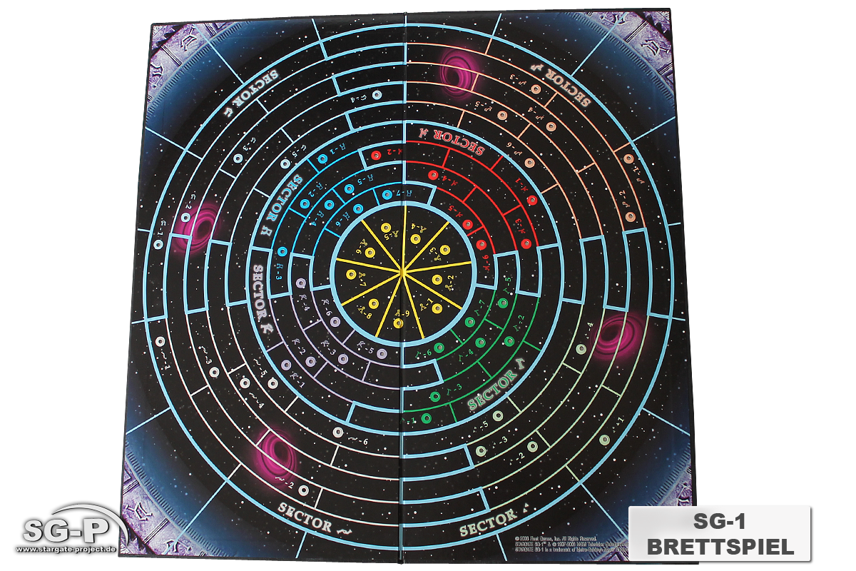 Merchandise - Stargate SG-1 Brettspiel / Board Game - Fleet Games Inc.- 4
