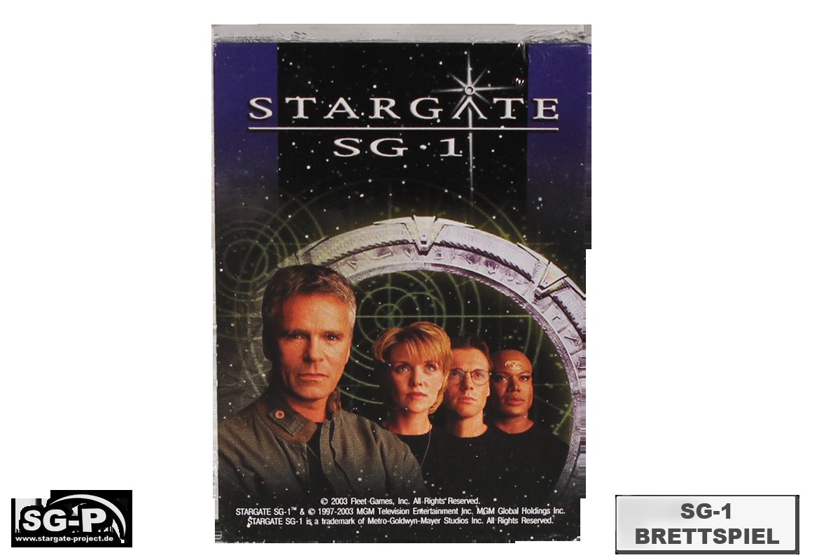 Merchandise - Stargate SG-1 Brettspiel / Board Game - Fleet Games Inc.- 5