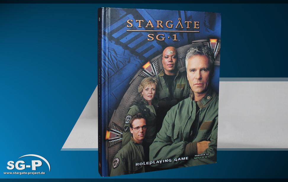 Merchandise - Stargate SG-1 Roleplaying Game Core Rulebook (AEG) - 1 Teaser