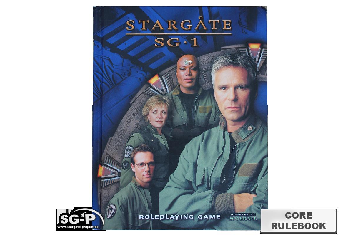 Merchandise - Stargate SG-1 Roleplaying Game Core Rulebook (AEG) - 2