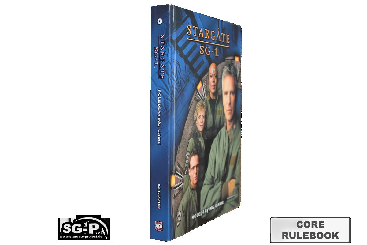 Merchandise - Stargate SG-1 Roleplaying Game Core Rulebook (AEG) - 3