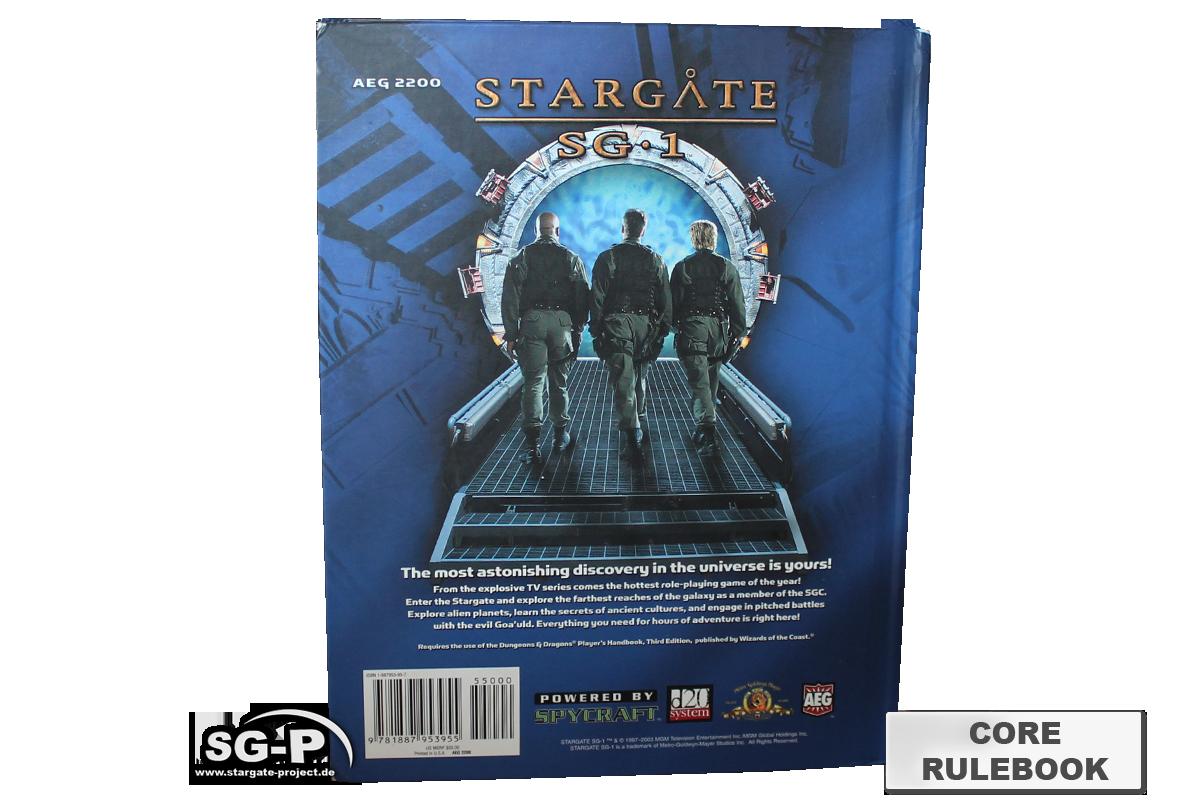 Merchandise - Stargate SG-1 Roleplaying Game Core Rulebook (AEG) - 4