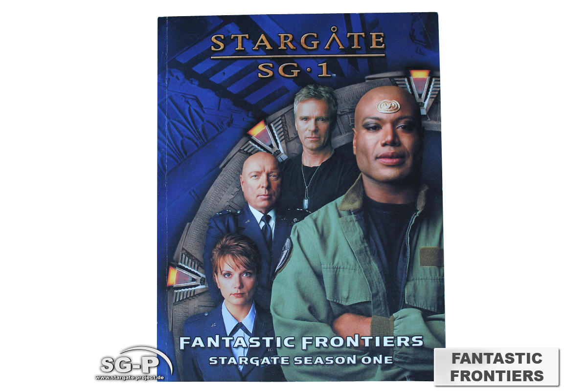 Merchandise - Stargate SG-1 Roleplaying Game Fantastic Frontiers Season 1 (AEG) - 2