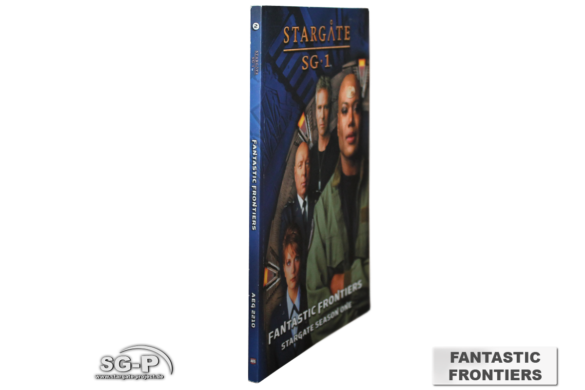 Merchandise - Stargate SG-1 Roleplaying Game Fantastic Frontiers Season 1 (AEG) - 3