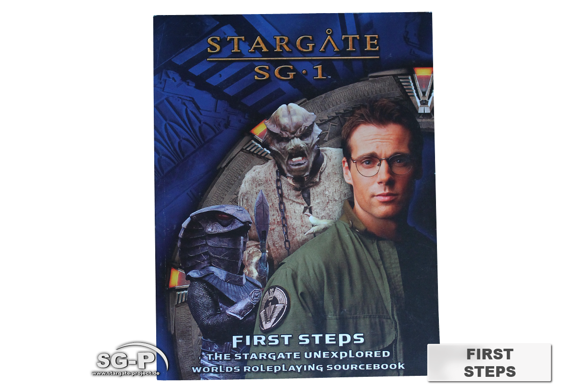 Merchandise - Stargate SG-1 Roleplaying Game First Steps (AEG) - 2