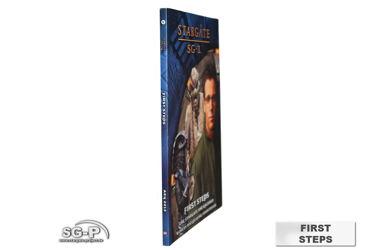Merchandise - Stargate SG-1 Roleplaying Game First Steps (AEG) - 3