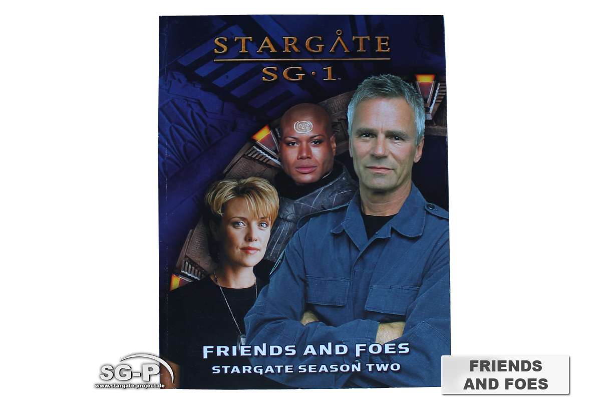 Merchandise - Stargate SG-1 Roleplaying Game Friends and Foes Season 2 (AEG) - 2