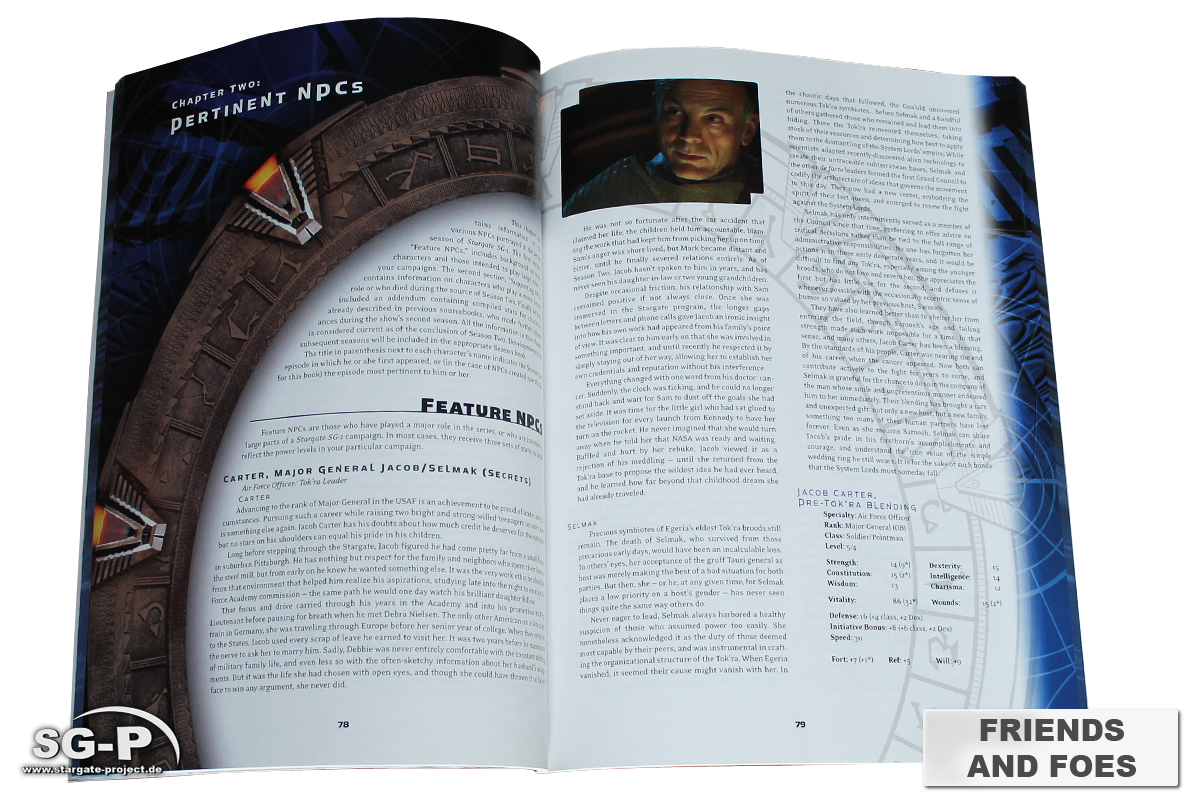 Merchandise - Stargate SG-1 Roleplaying Game Friends and Foes Season 2 (AEG) - 5