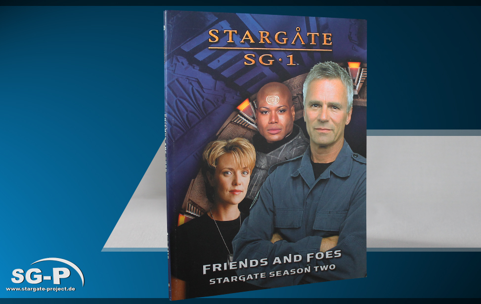 Merchandise - Stargate SG-1 Roleplaying Game Friends and Foes Season Two - 1 Teaser