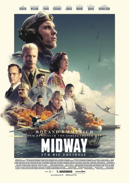 Review - Midway Für die Freiheit - Poster / Plakat