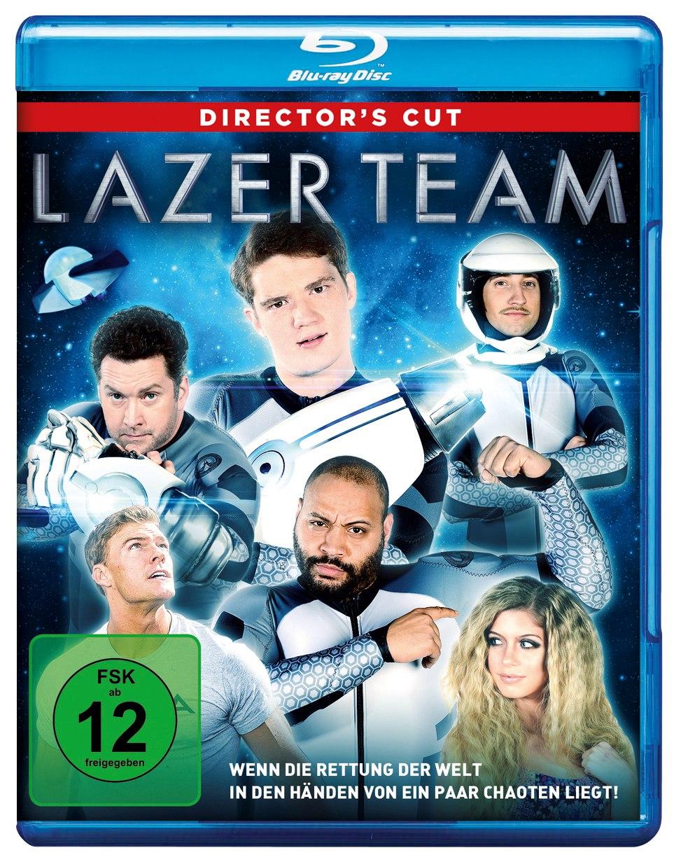 Review - LAZER TEAM - Blu-ray Packshot